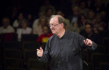 Nikolaus Harnoncourt dirigiert bei der styriarte ©Werner Kmetitsch Nikolaus Harnoncourt dirigiert bei der styriarte